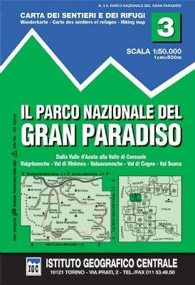 IGC 3 - Wanderkarte für Gran Paradiso 1:50.000
