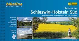 Schleswig Holstein Süd, Bikeline Radwanderführer mit Karte, Esterbauer