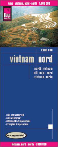Vietnam Nord Landkarte 1:600.000, Reise Know-How