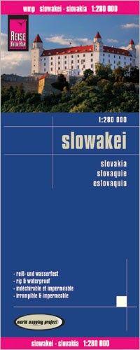 Slowakei Landkarte 1:280.000, Reise Know-How