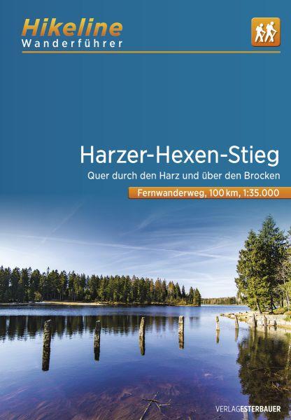 Harzer-Hexen-Stieg, Hikeline Wanderführer mit Karte