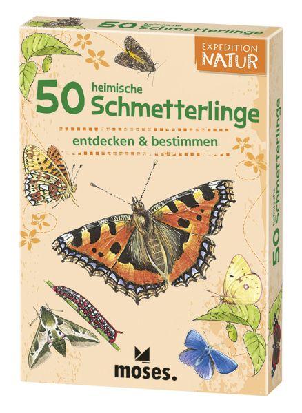 50 heimische Schmetterlinge entdecken und bestimmen, Moses Verlag