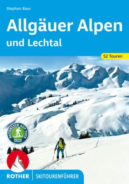 Allgäuer Alpen und Lechtal Rother Skitourenführer