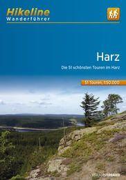 Harz Wanderführer mit Karte, Hikeline, Esterbauer