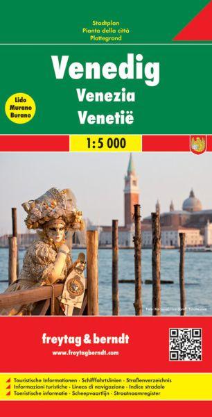 Venedig, Stadtplan 1:5.000, Freytag und Berndt