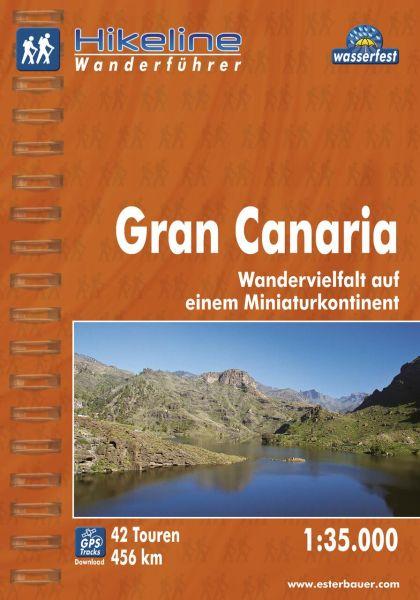 Gran Canaria, Wanderführer mit Karte, Esterbauer