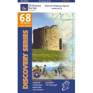 OSI 68 Carlow, Kilkenny, Wexford, Wanderkarte