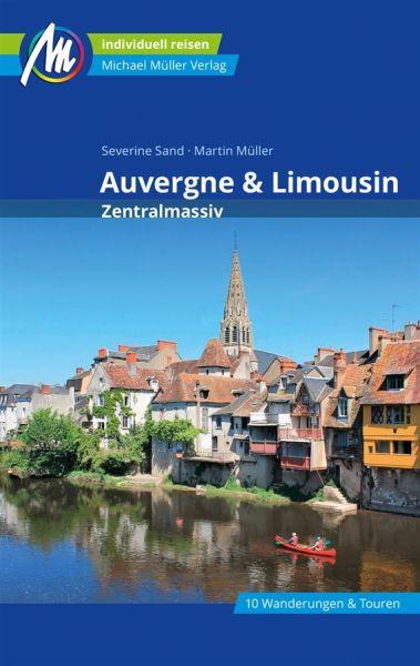 Limousin & Auvergne Zentralmassiv Reiseführer, Michael Müller
