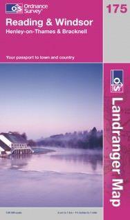 Landranger 175 Reading & Windsor Wanderkarte 1:50.000 - OS / Ordnance Survey