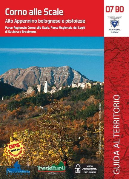 Corno alle Scale Wanderkarte 1:25.000, l'Escursionista Editore