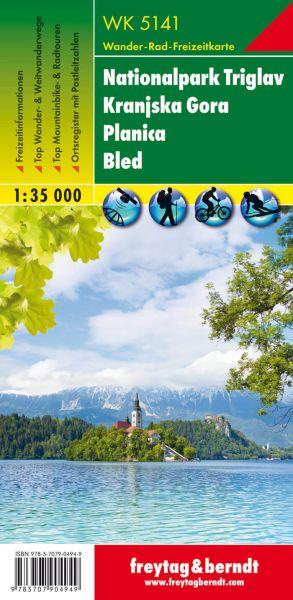 WK 5141, Nationalpark Triglav, Wanderkarte 1:35.000, Freytag und Berndt