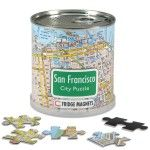 City Puzzle Magnets San Francisco von Extra Goods