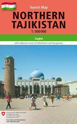 Gecko Maps, Topographische Karte: Northern Tajikistan 1:500.000