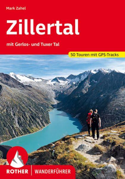 Zillertal Wanderführer, Rother