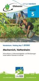Kall, Kommern, Mechernich, Nettersheim, Wanderkarte 1:25.000 Eifelvereinskarte Bl. 5
