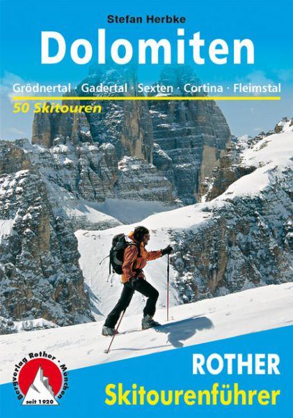 Dolomiten Rother Skitourenführer