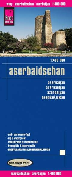 Aserbaidschan Landkarte 1:400.000, Reise Know-How