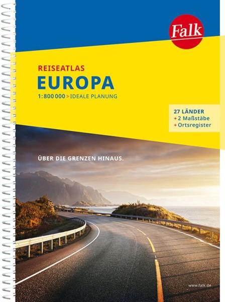 Europa Reiseatlas, 1:800.000, Falk