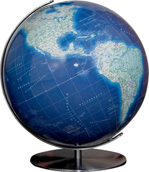 Columbus Azzurro Ø 40 cm, handkaschierter Globus