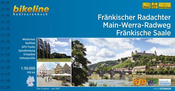 Fränkischer Radachter Bikeline Radtourenbuch, Esterbauer