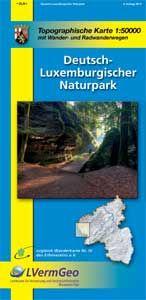 Deutsch-Luxemburgischer Naturpark, Wanderkarte 1:50.000