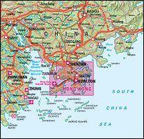 Hongkong Stadtplan 1:22.500, Nelles Maps