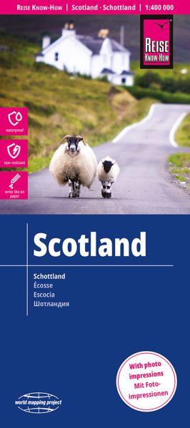Schottland Landkarte 1:400.000, Reise Know-How