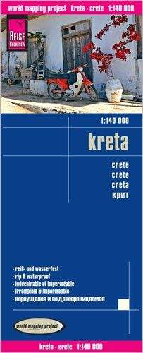Kreta Landkarte 1:140.000, Reise Know-How