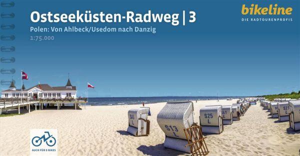 Ostseeküsten-Radweg 3, Bikeline Radwanderführer mit Karte, Esterbauer