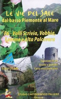 Wanderkarte für Valli Scrivia, Vobbia, Lemme & alta Polcevera in Ligurien Bl. 6