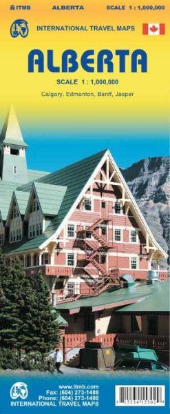 Alberta Landkarte 1:1.000.000, ITM