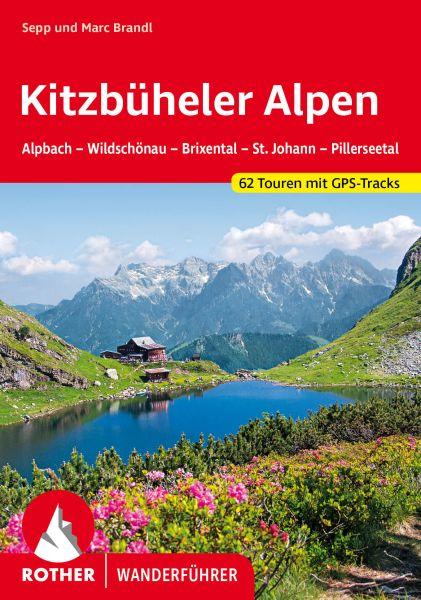 Kitzbüheler Alpen Wanderführer, Rother