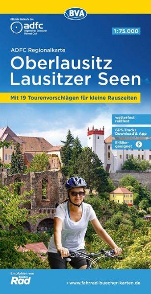 ADFC-Regionalkarte, Oberlausitz, Radwanderkarte