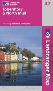 Landranger 47 Tobermory & North Mull, Großbritannien Wanderkarte 1:50.000