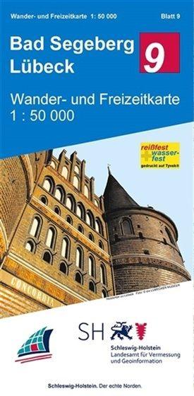 Blatt 9 Bad Segeberg - Lübeck Wander- und Freizeitkarte 1:50.000