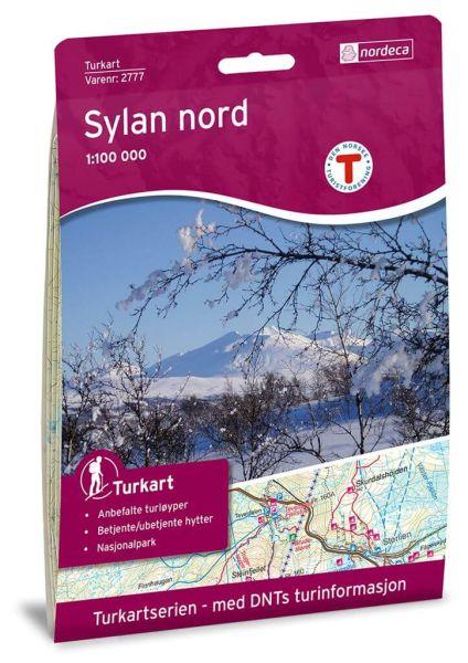 Sylan Nord Wanderkarte 1:100.000 – Norwegen, Turkart 2777 von Nordeca