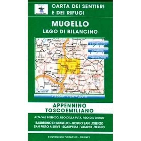Edition Multigraphic 27, Mugello, Lago di Bilancino, Toskana, 1:25.000