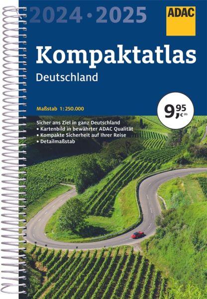 Deutschland Kompaktatlas, 1:300.0000, ADAC