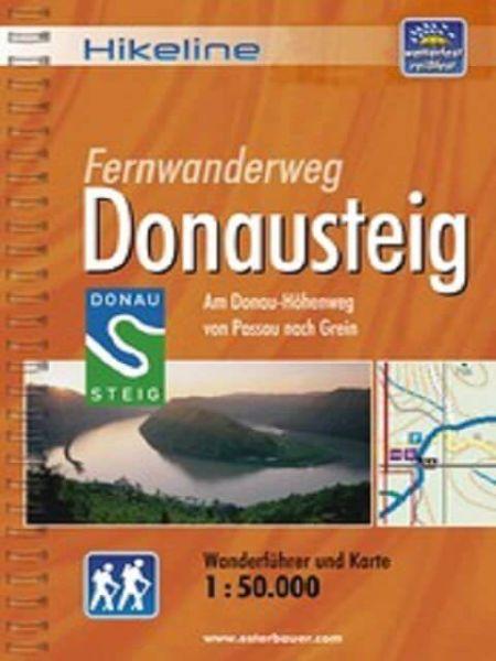 Donausteig, Hikeline Wanderführer mit Karte, Esterbauer