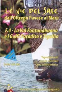 Wanderkarte für La Val Fontanabuona & i Golfi Paradiso & Tigullio in Ligurien Bl. 4