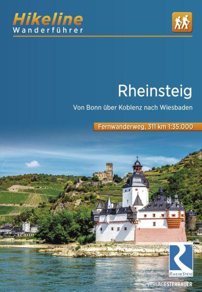 Rheinsteig, Hikeline Wanderführer mit Karte