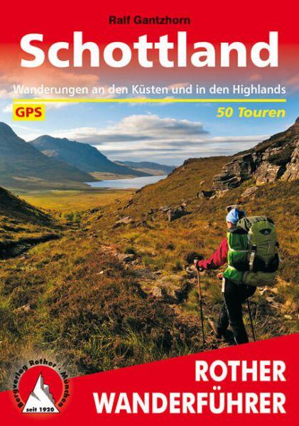 Schottland Wanderführer, Rother