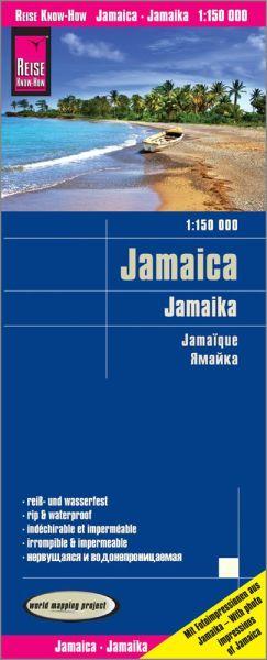 Jamaika Landkarte 1:150.000, Reise Know-How