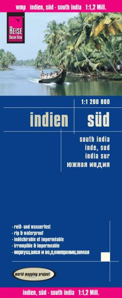 Indien Süd Landkarte 1:1.200.000, Reise Know-How