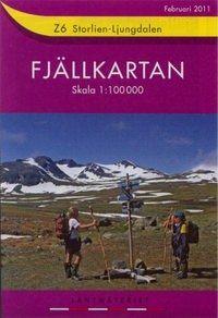 Fjällkartan Z6 Schweden Trekking- und Wintersportkarte 1:100.000