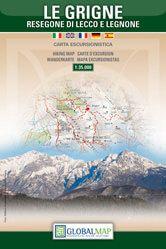 Lombardei Wanderkarte: Le Grigne - Resegone di Lecco 1:35.000