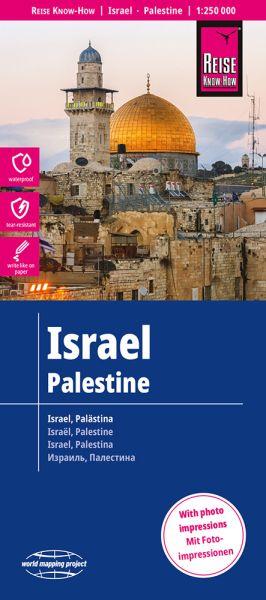 Israel, Palästina Landkarte 1:250.000, Reise Know-How