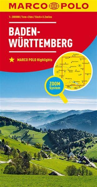 Baden-Württemberg Straßenkarte 1:200.000, Marco Polo Bl. 11
