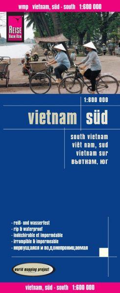 Vietnam Süd Landkarte 1:600.000, Reise Know-How