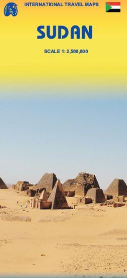 Sudan Landkarte 1:2.500.000, ITM